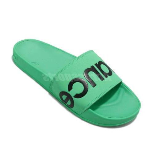 Green Sports Sandals Slippers