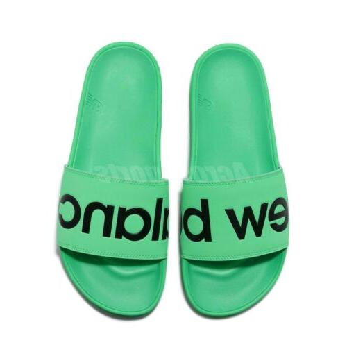New Green Black Men Sports Sandals Slippers SMF200E1D