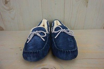 UGG PEACOAT SUEDE MOCCASIN SLIPPERS US NIB