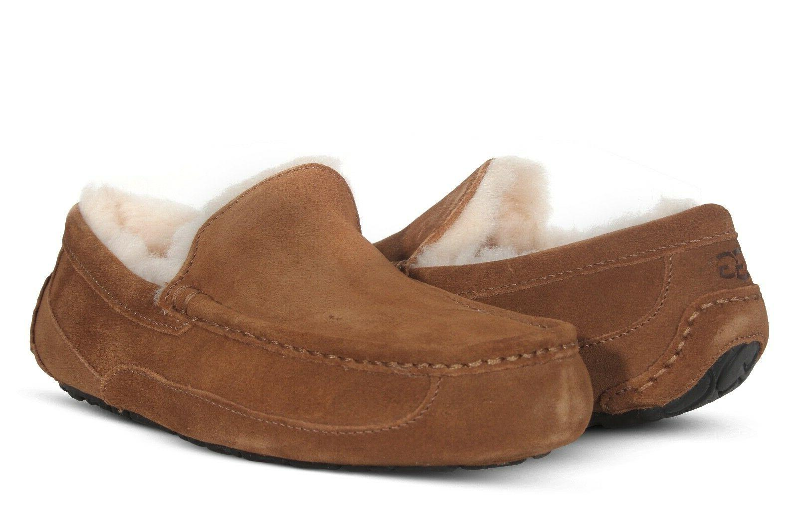 UGG Slippers Shoes Black Chestnut Grey