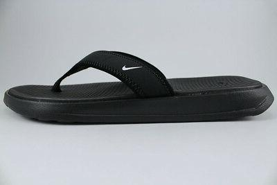 NIKE ULTRA CELSO BLACK/WHITE SLIDES SIZES