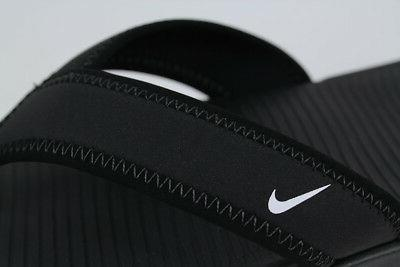 NIKE BLACK/WHITE SLIDES SIZES