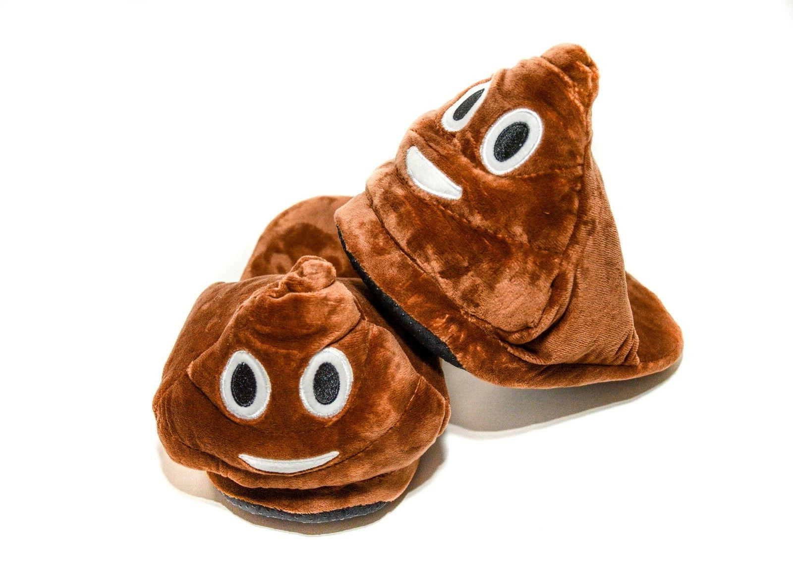 Unisex Adult Slippers Poop Emoji Slipper Poo Emoji Shoes Win