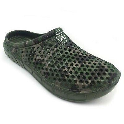 unisex camouflage slippers clogs sandals 13 5
