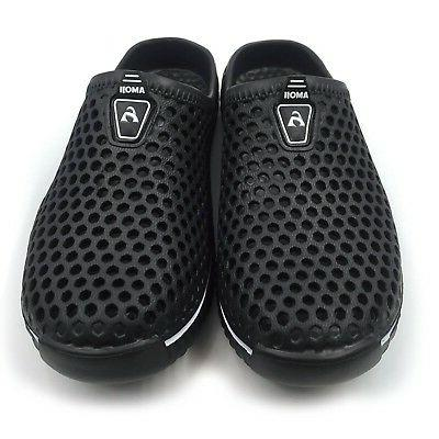 Amoji Unisex Shoes Black
