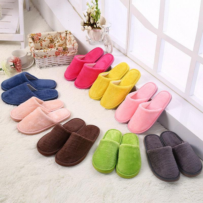 Women House Slippers Home Cotton Sandals Soft plus