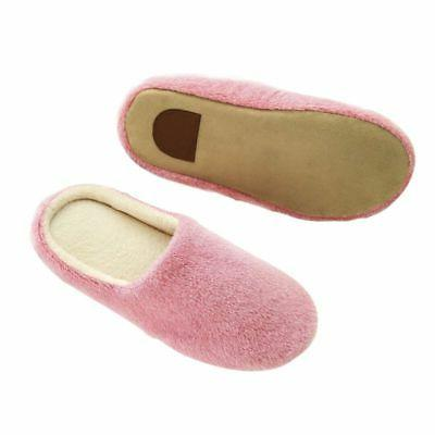Men Women Soft Warm Slippers House Anti-slip US