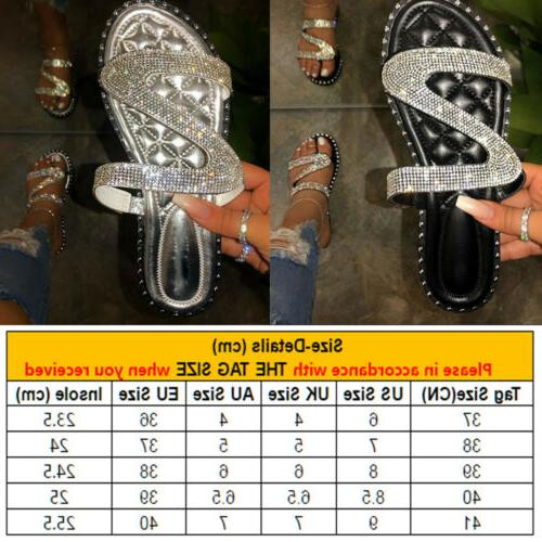 Women Slippers Ladies Party Slip On Flats