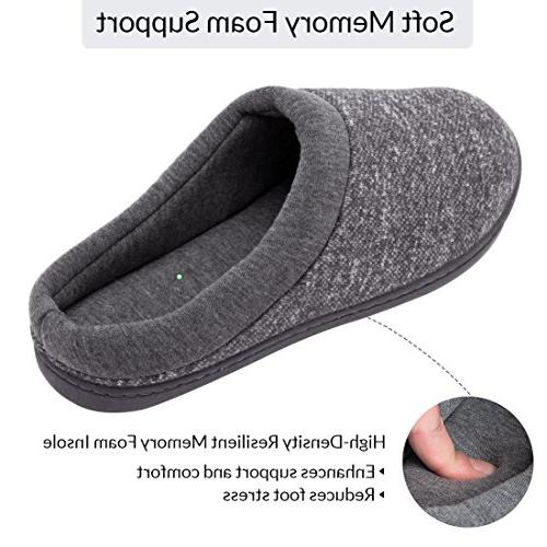 Women's Slip On Memory Lining Slippers US, Light