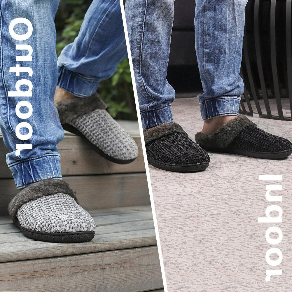 Women's Slippers Knitted Memory Indoor/Outdoor Home