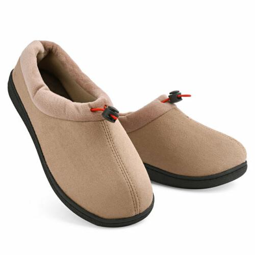 Women's Micro Suede Moccasin House Shoes