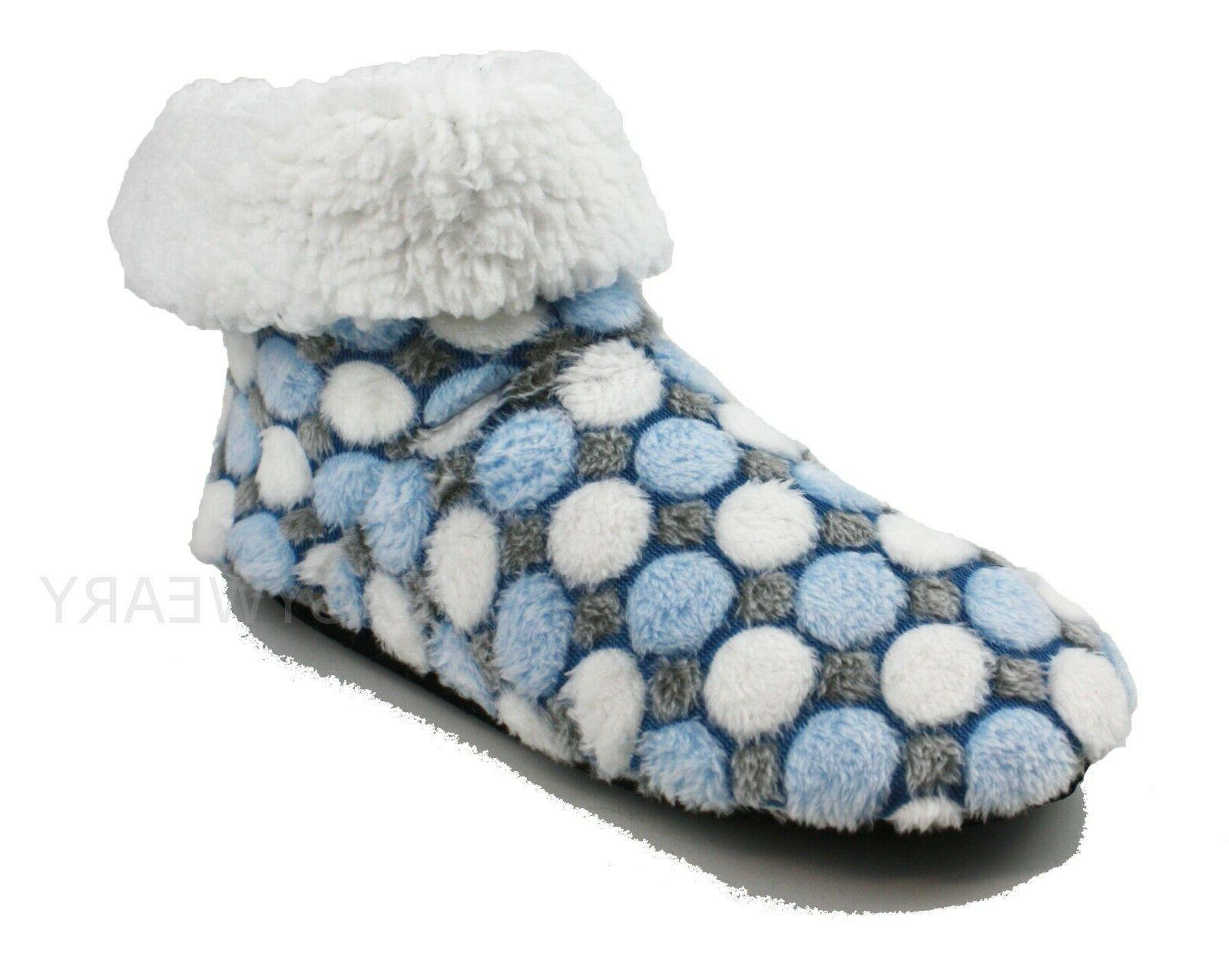 Womens Fleece Lined Slippers Shoes 6-10