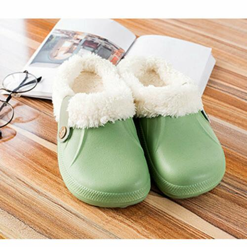 Womens Warm Slippers Indoor Plush Shoes