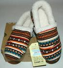 TOMS Youth Slipper Earth Woolen Fair Isle Youth Size 4
