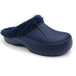 Amoji Lined Slipper Lined Clog House Home Shoes Room Indoor