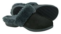 Powerstep Luxe Women's Orthotic Slippers - Memory Foam Slip-
