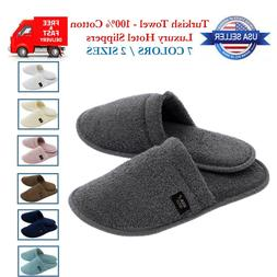 Luxury Hotel Terry Towel Slippers Men Women Unisex Bath Spa