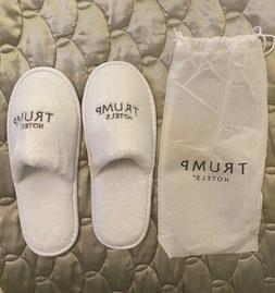 Trump Luxuy Slippers with Pouch from Trump International Hot