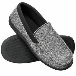 men s slippers house shoes moccasin comfort
