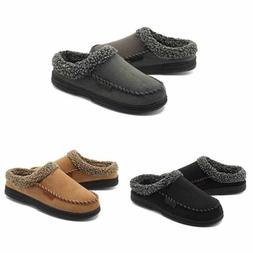 Men's Warm Slippers Casual Suede Shoes Lazy Driving Moccasin