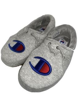 Champion Mens Grey Slippers Size 8 #cp100357m