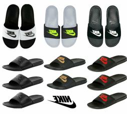Nike Mens Slides Benassi Sliders JDI Summer Slippers Pool Sa
