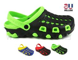 Mens Slip On Clogs Slippers Rubber Shoes Sandals Beach Garde
