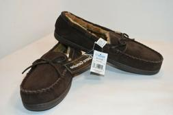 Moccasin Slippers Shoes Women's Chestnut Color Size X-Large
