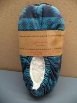 Canyon Sky Native Womans Slippers NIP: Multi-Color M or Blue