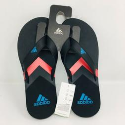 *NEW* Adidas Eezay Flip Flop  Black Slippers