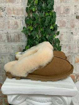 New Kirkland Signature Ladies Shearling Slipper Genuine Shee