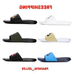 NEW Nike Mens Benassi JDI Slippers Slide Sandals  ✔️BRAN