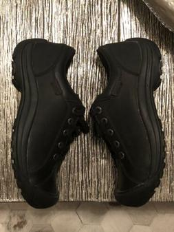 NEW MENS KEEN BRIGGS BLACK LEATHER OXFORD CASUAL COMFORTABLE