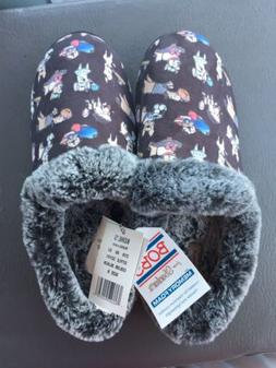 NEW NWT Skechers Bobs Womens Dog Slippers Size 8