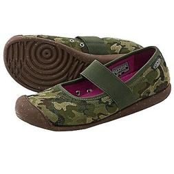 NEW KEEN Women's Camo Sienna MJ Canvas Shoe Slip on Slipper
