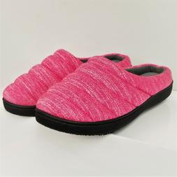 NEW Isotoner Women's Hoodback Slippers - Indoor/Outdoor Sole