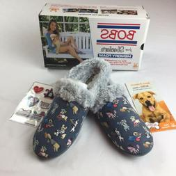 NIB! BOB'S For SKECHERS Memory Foam Women's Mule Slippers