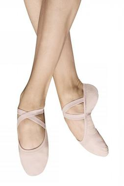 NIB Bloch Performa Canvas Split-Sole Ballet Slipper- Adult S