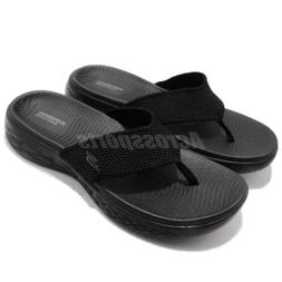 Skechers On The Go 600 Black Men Sandal Thong Flip-Flops Sli
