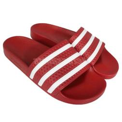 adidas Performance Adilette Red White Mens Sports Sandals Sl