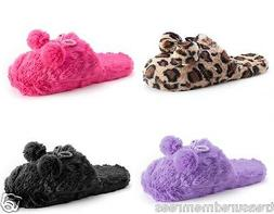 pom pom clog slippers scuffs several colors