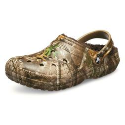 Realtree  CROCS Classic WINTER  Fuzzy Plush LINED vegan Clog