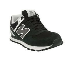 New Balance Shoes 574 Men Running Sneakers M574SKW Black Whi