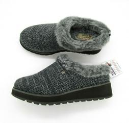 BOBS by Skechers Size 6 M Keepsakes High Charcoal Gray Knit