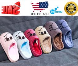 Slippers Women Men Shoes Indoor House Winter Warm Mens Famil