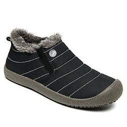 WateLves Mens Womens Snow Boots Winter Anti-Slip Ankle Booti