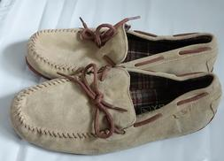 Sperry Top-Sider suede leather upper w brown contrast driver