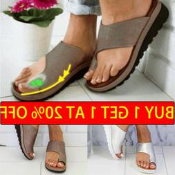 US STOCK Women Comfy Sandal Ladies Shoes -PU LEATHER- Bunion
