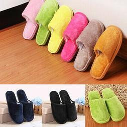 USA Slippers Women Men Shoes Indoor House Winter Warm Mens F