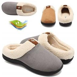 Warm Women's Winter Fluffy Cotton Shoes Memory Foam Slip On